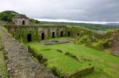 footprint of San Lorenzo Fort 17th century ruins