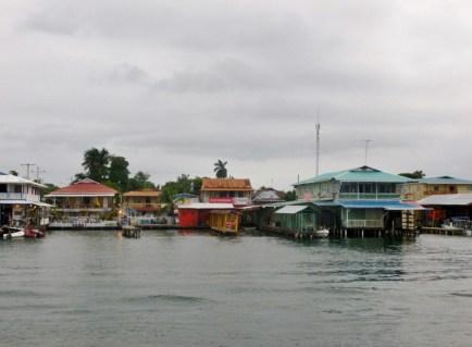 Bocas town - waterfront