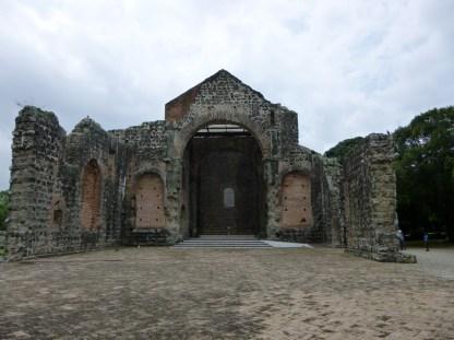 Panama Viejo in Panama City -UNESCO World Heritage Site
