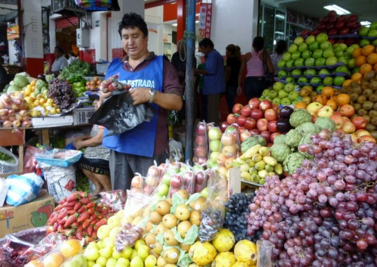 Tarqui Market in Manta