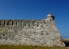 battlements and sentry post, Cartagena