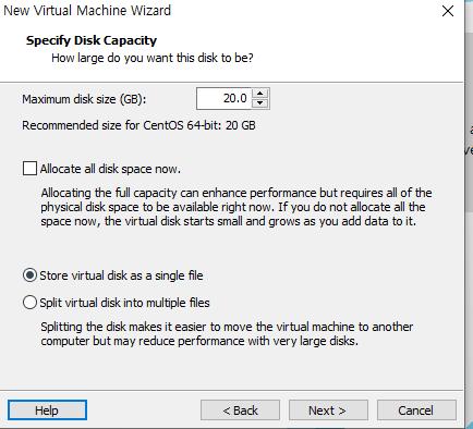 Vmware 버추얼 머신 생성11