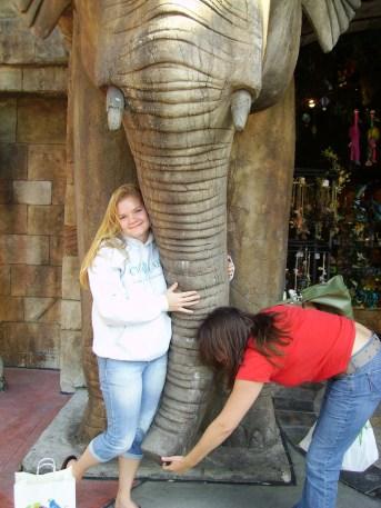 Not Eeyore the Elephant but still a fun photo