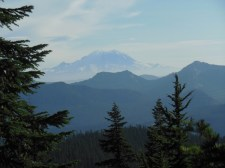 Check out the view of Mt. Renier