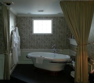 The bathtub in 401 beats the hot tub in 301.  At least when you're by yourself.