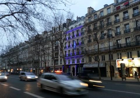 Paris has gorgeous boulevards.