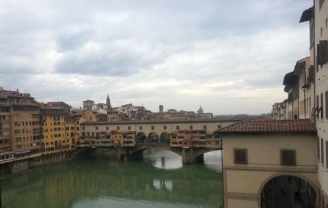 Ponte Vecchio from the Ufizzi.