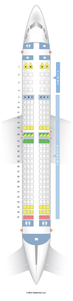 Does seat 11F suck?  Only if you want out of your row EVER.