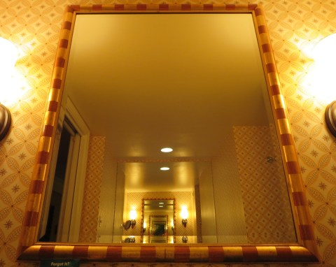 Bathroom mirror (mirror).