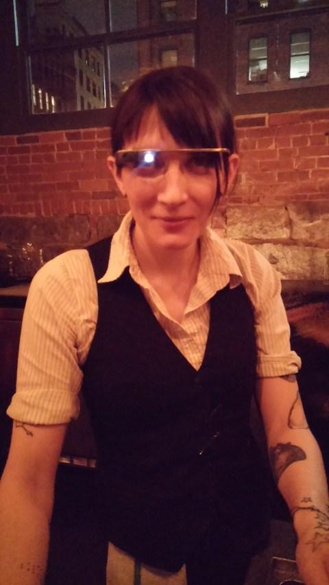 Ezra wears glass.