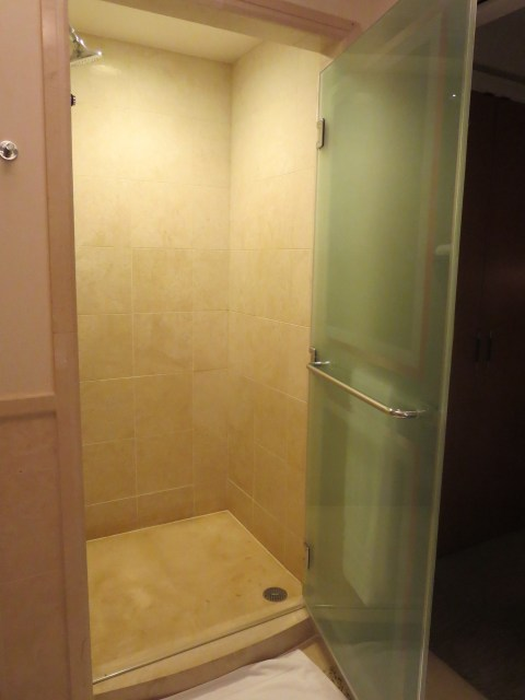 That shower.  Yes!