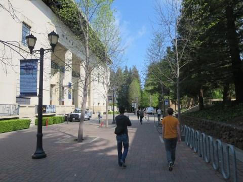 UC Berkeley Massive Group Tour