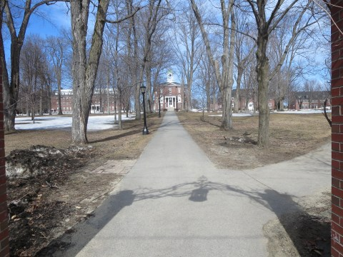 Bates College: Slightly more thawed, but not much