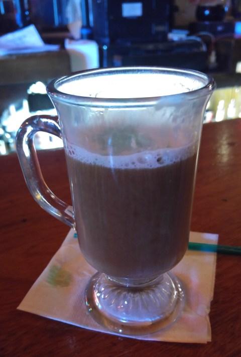Irish coffee chaser for Malort shots