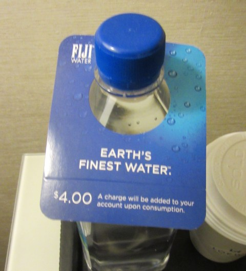 """Listen """"luxury"""" hotel. People in """"superior suites"""" should not pay $4 for water."""