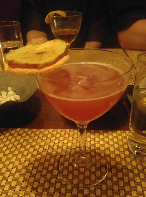 A cocktail inspired by Becky Harris from Catoctin Creek