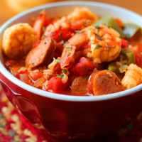 One Pot Spicy Shrimp and Sausage Jambalaya Recipe