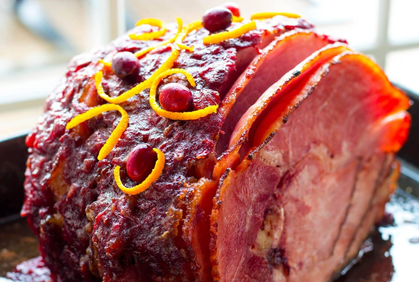 Irresistible Cranberry Orange Baked Ham