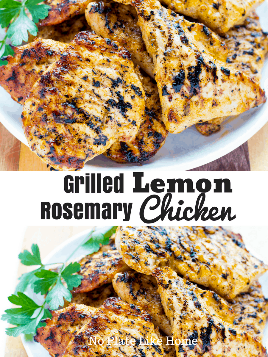 Grilled Lemon Rosemary Chicken