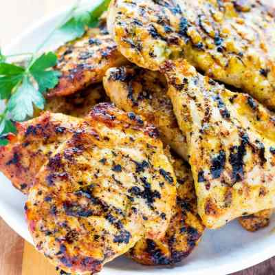 Flavorful Grilled Lemon Rosemary Chicken