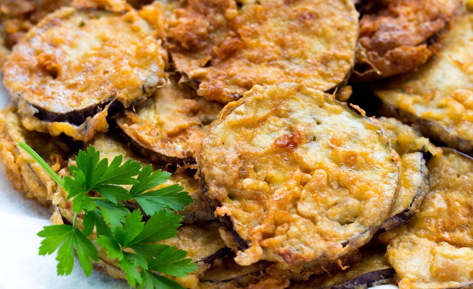 Simple Italian Fried Eggplant Recipe
