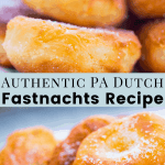 Authentic PA Dutch Fastnachts Recipe