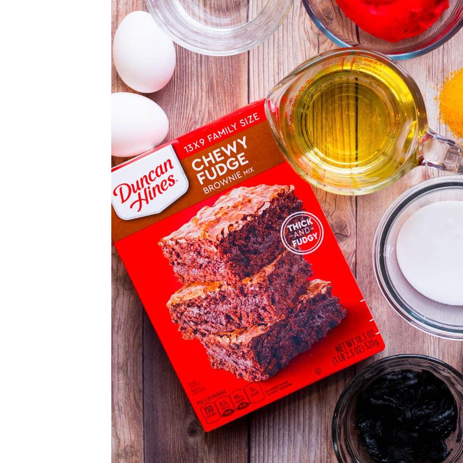 Best Santa Belly Brownies