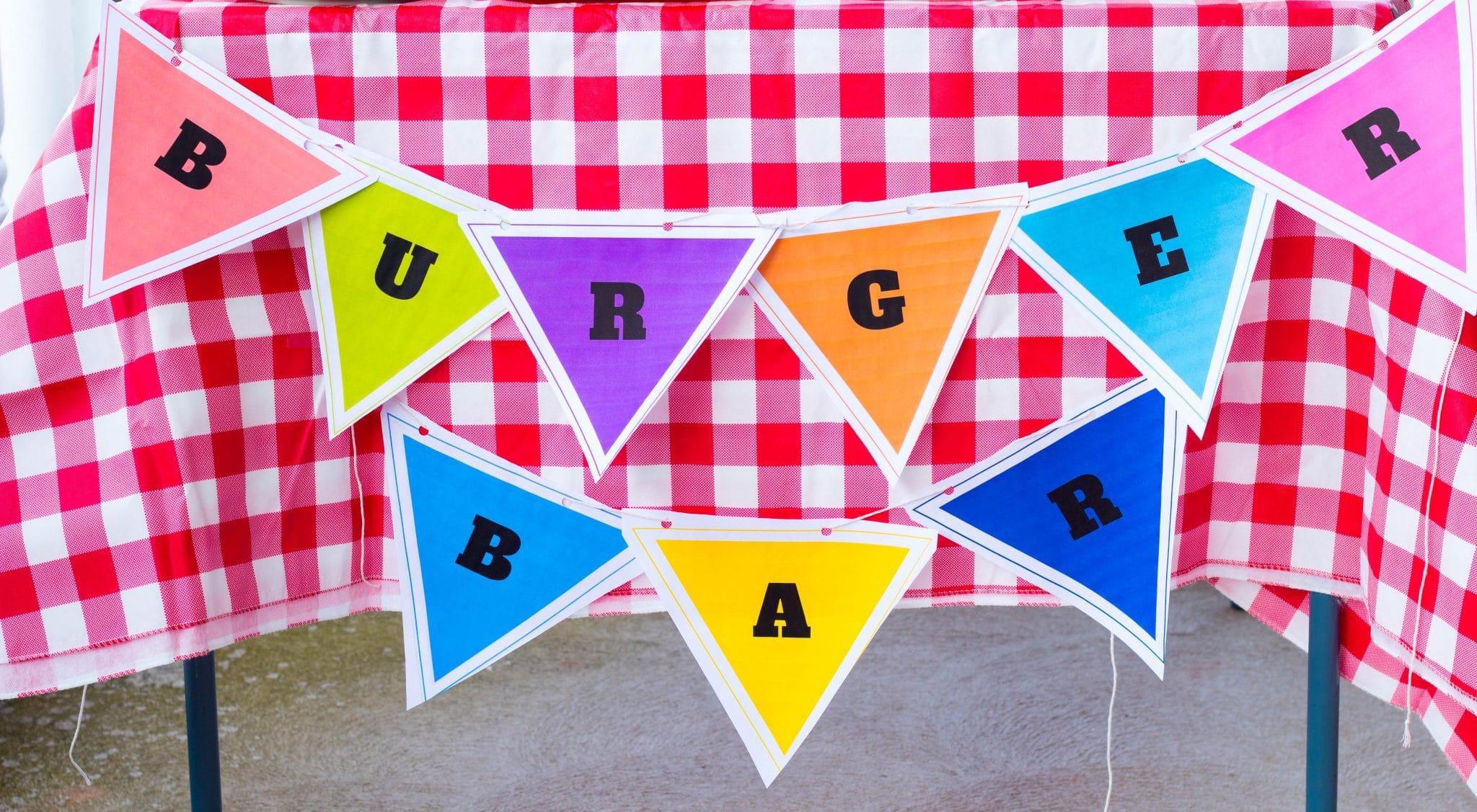 Burger Bar Flags