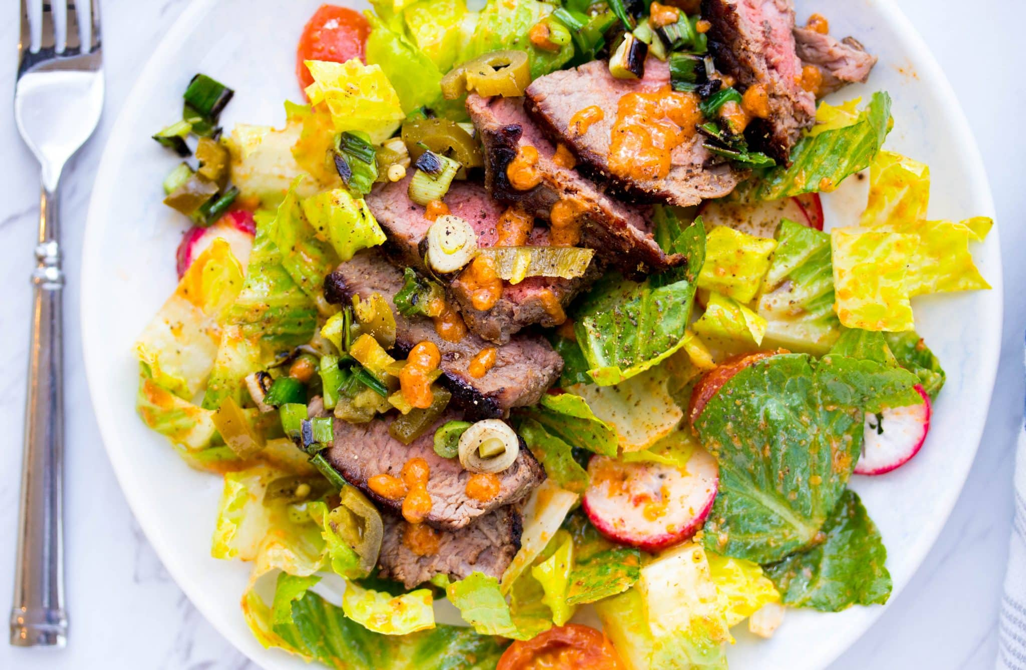 Sun Basket Review- Steak Salad