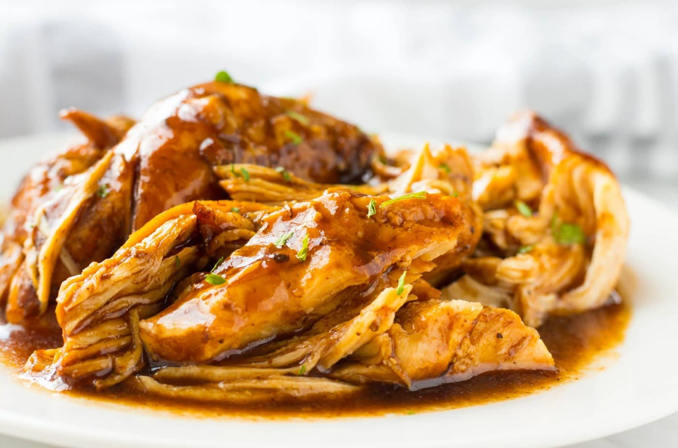 Slow Cooker Brown Sugar Balsamic Chicken
