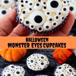 Halloween Monster Eyes Cupcakes