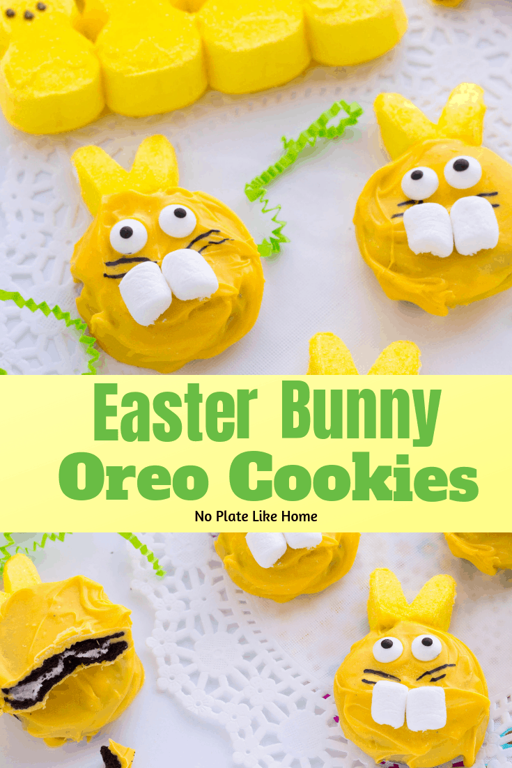 DIY Easter Bunny Oreo Cookies