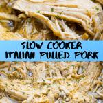 Slow Cooker Italian Pulled Pork