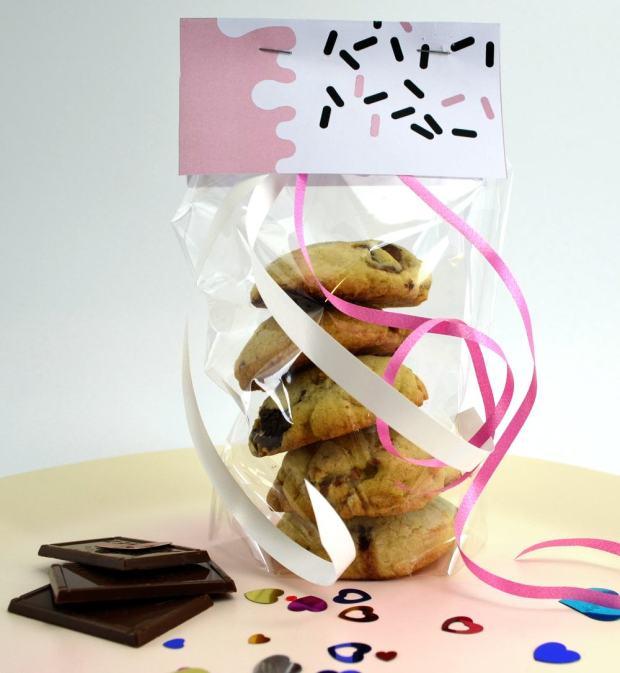 Composit Cookies als Geschenk verpackt