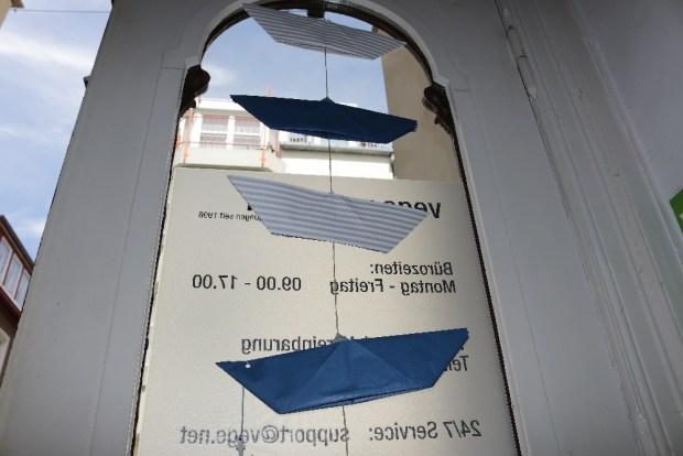 Wettbewerbsbeitrag für die pappbootregatta in vegesack