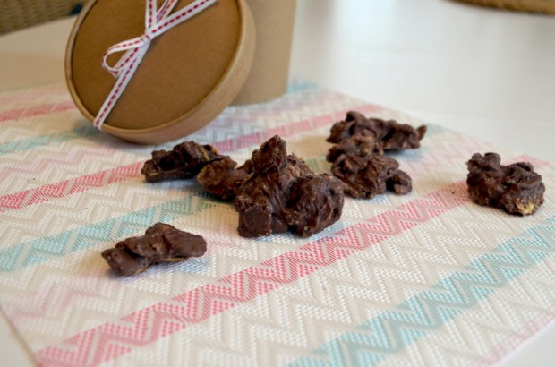 Choco Crossies aus Resten