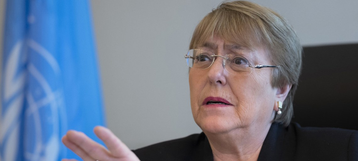 Michelle Bachelet (high commissioner for human rights at the UN) on Friday recognized that access to a clean, healthy and sustainable environment is a human right.