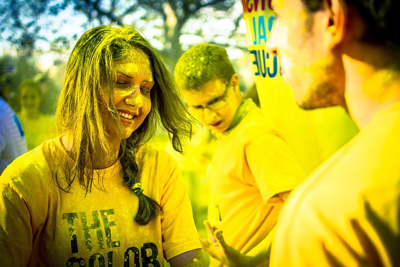 The Color Run  Bucharest 2014 -Yellow