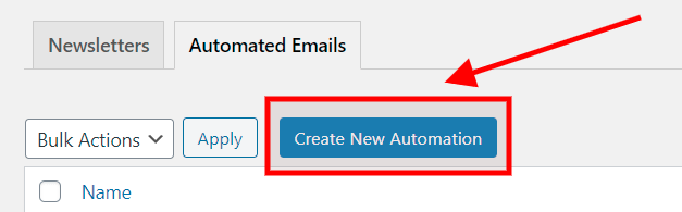 create a new automation
