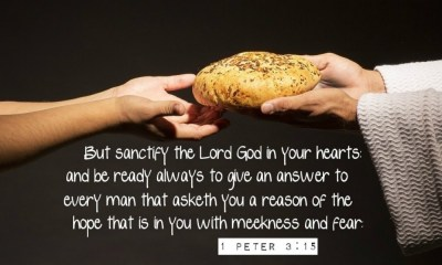 1 Peter 315 be ready always to give an answer