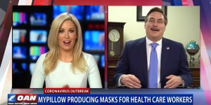 MyPillow shifting 75 of production to face masks to help fight coronavirus