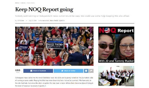 Keep NOQ Report Going
