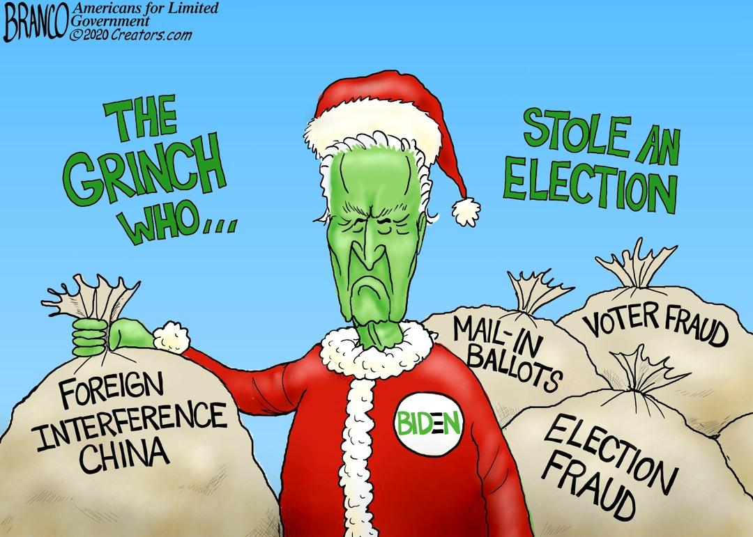 Biden Grinch