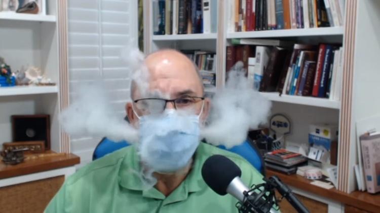 Face Mask Smoke Test