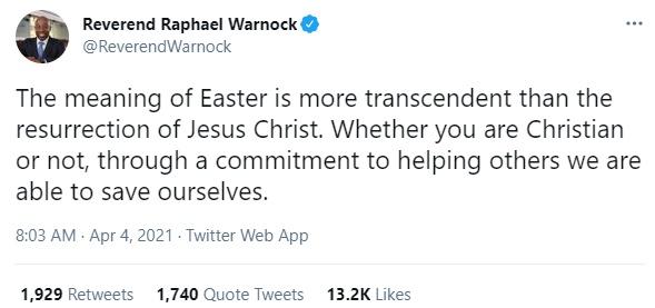 Reverend Raphael Warnock