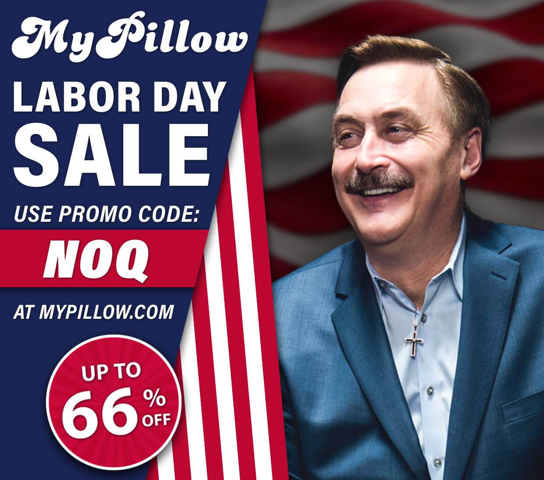 MyPillow Labor Day Sale