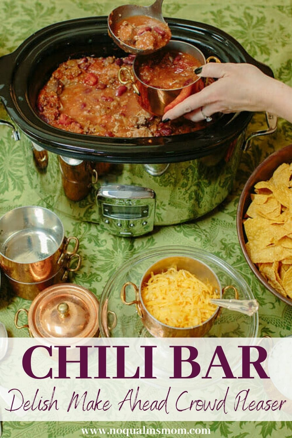 Easy Party Idea: Chili Bar