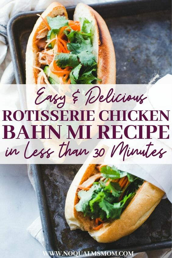 Easy and Delicious Bhan Mi Recipe in less than 30 minutes