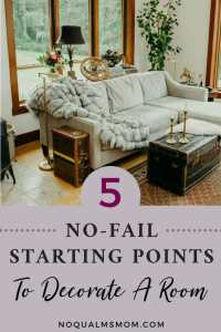 5 tips to start decorating a room