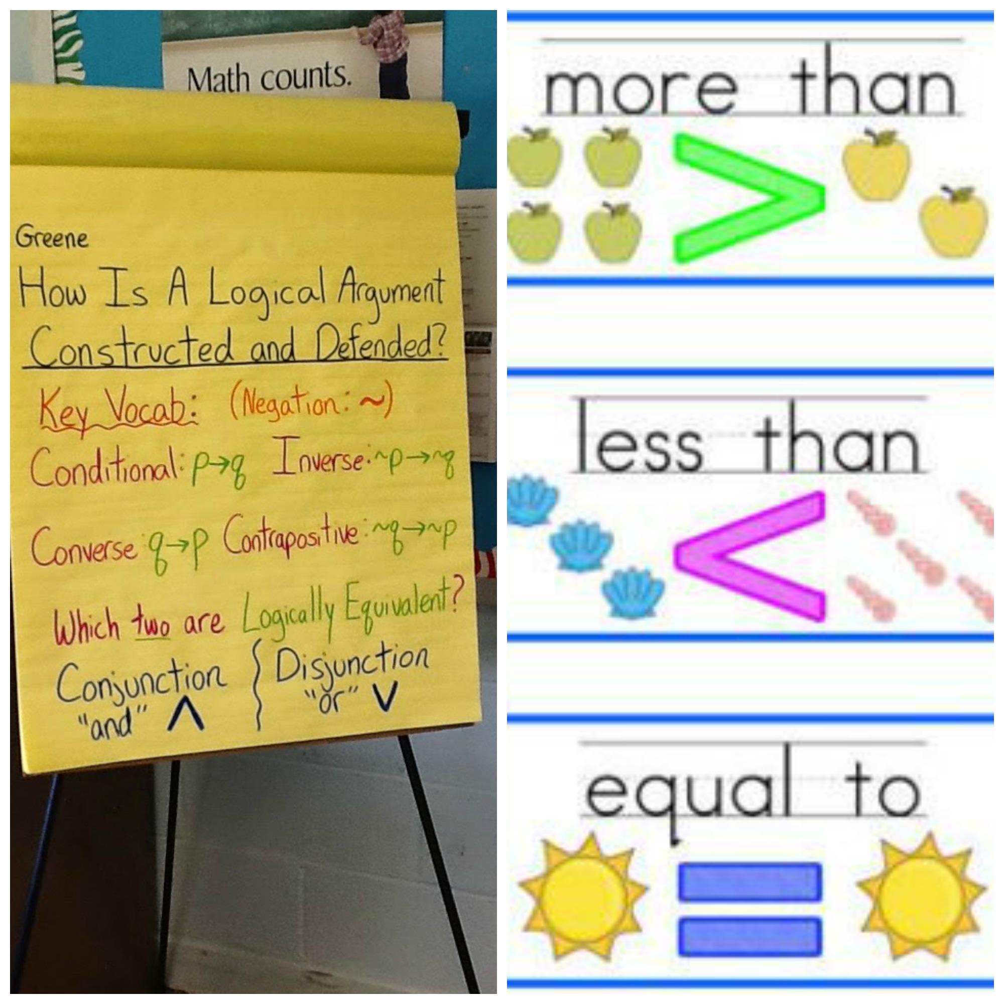 A High School Teacher Experiences A Kindergarten Math